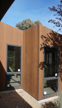Cladding and window detail